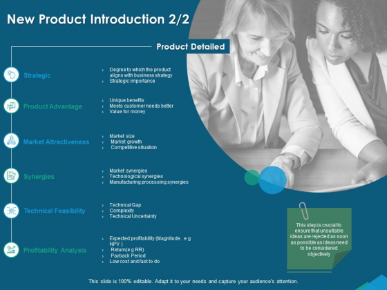 Guide For Managers To Effectively Handle Products New Product Introduction Strategic Summary PDF