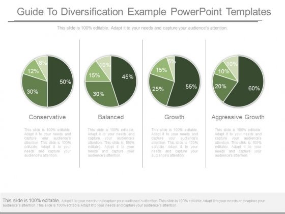 Guide To Diversification Example Powerpoint Templates