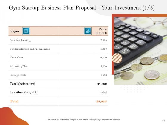 Gym_And_Fitness_Center_Business_Plan_Proposal_Ppt_PowerPoint_Presentation_Complete_Deck_With_Slides_Slide_14