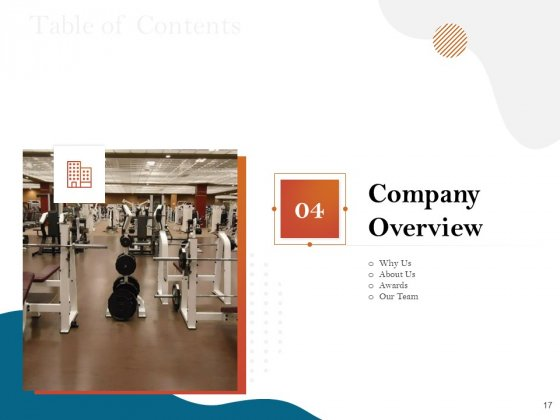 Gym_And_Fitness_Center_Business_Plan_Proposal_Ppt_PowerPoint_Presentation_Complete_Deck_With_Slides_Slide_17