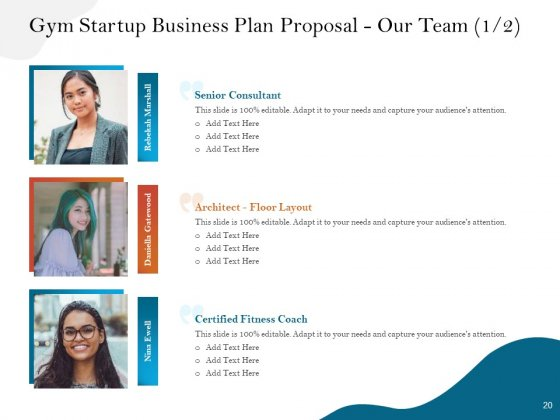 Gym_And_Fitness_Center_Business_Plan_Proposal_Ppt_PowerPoint_Presentation_Complete_Deck_With_Slides_Slide_20