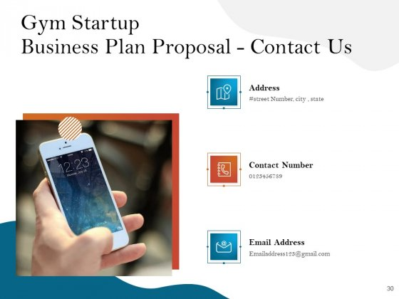 Gym_And_Fitness_Center_Business_Plan_Proposal_Ppt_PowerPoint_Presentation_Complete_Deck_With_Slides_Slide_30
