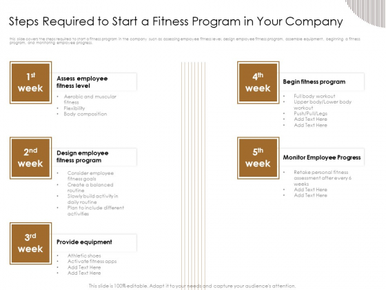 Gym Consultant Steps Required To Start A Fitness Program In Your Company Introduction PDF