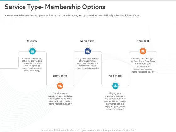 Gym_Health_And_Fitness_Market_Industry_Report_Service_Type_Membership_Options_Ppt_PowerPoint_Presentation_Show_Slide_PDF_Slide_1