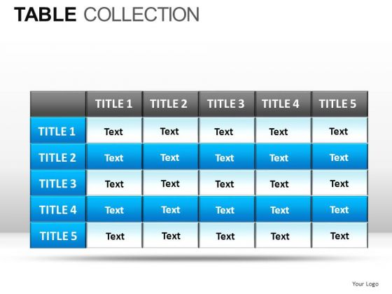 Game Table Collection PowerPoint Slides And Ppt Diagram Templates