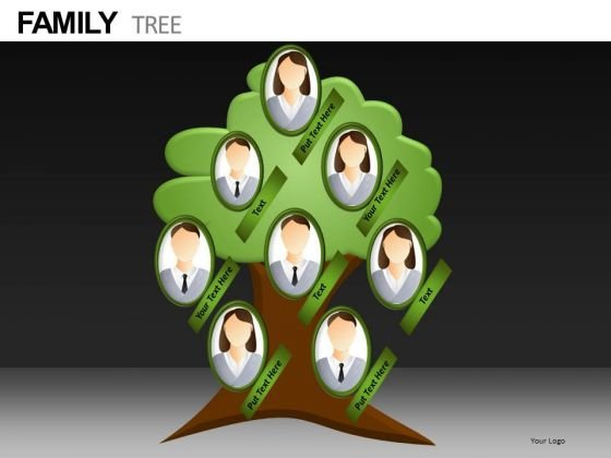 Genealogy PowerPoint Templates