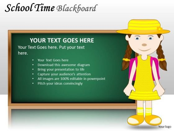 girl_school_time_blackboard_powerpoint_slides_and_ppt_diagram_templates_1