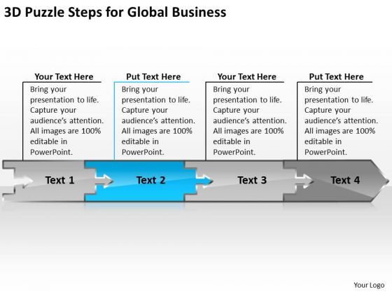 Global Business PowerPoint Templates Download Sample Plan Pdf