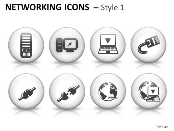 Glowing Networking Icons 1 Instrument PowerPoint Slides And Ppt Diagram Templates