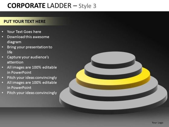 Goals Steps PowerPoint Ppt Graphics