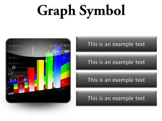 Graph Symbol Business PowerPoint Presentation Slides S