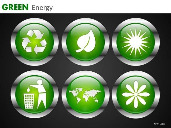 Green Energy Editable Graphics Slides PowerPoint Templates