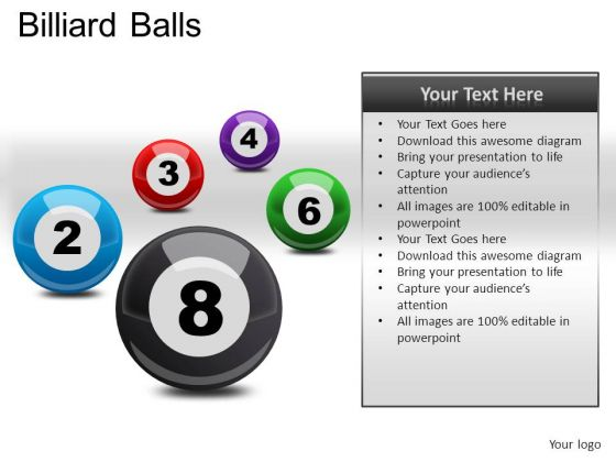 Group Billiard Balls PowerPoint Slides And Ppt Diagram Templates