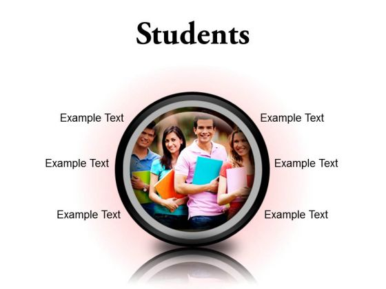 Group Of Students Education PowerPoint Presentation Slides Cc