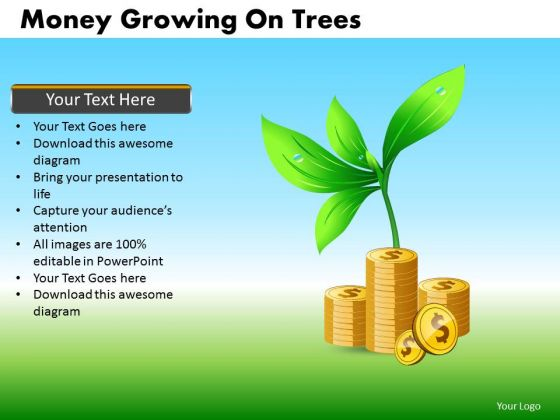 Grow Investments Finance PowerPoint Templates Editable Ppt Slides