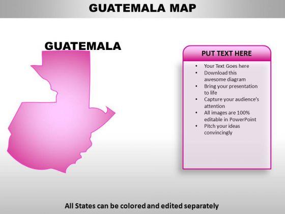 Guatemala PowerPoint Maps