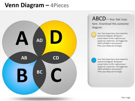 Guidelines Venn Diagram PowerPoint Slides And Ppt Diagram Templates