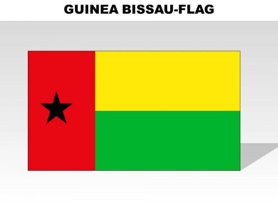 Guniea Bissau Country PowerPoint Flags