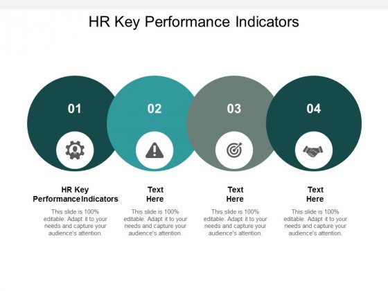 HR Key Performance Indicators Ppt PowerPoint Presentation Styles Outline Cpb