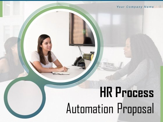 HR Process Automation Proposal Ppt PowerPoint Presentation Complete Deck With Slides