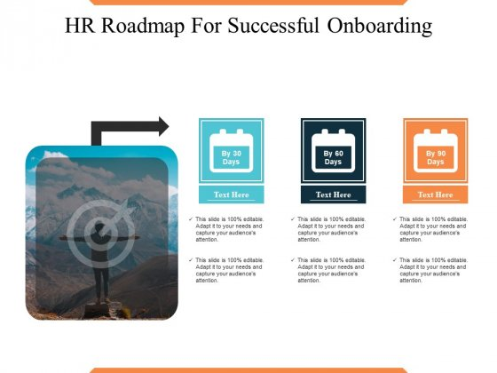 HR Roadmap For Successful Onboarding Ppt PowerPoint Presentation Portfolio Templates