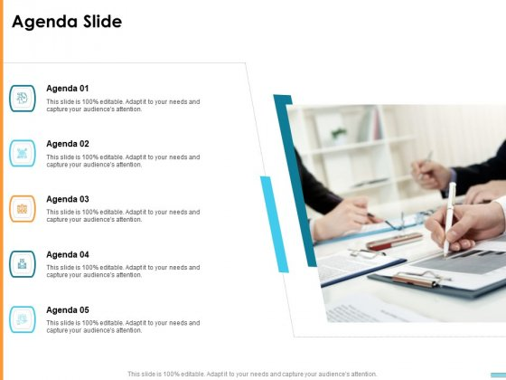 HR Strategy To Transform Employee Experience And Work Culture Agenda Slide Portrait PDF