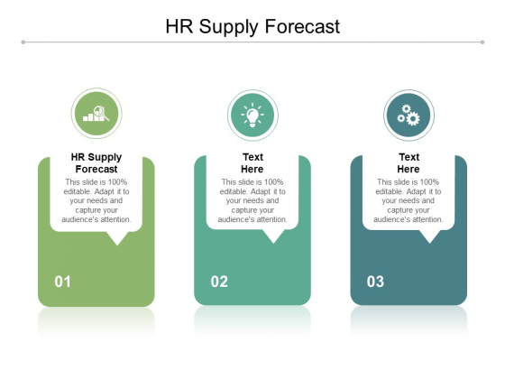 HR Supply Forecast Ppt PowerPoint Presentation Styles Shapes Cpb