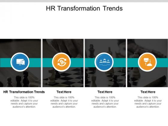HR Transformation Trends Ppt PowerPoint Presentation Show Deck Cpb