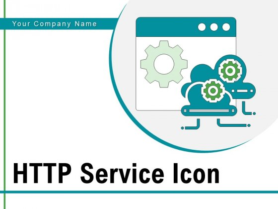 HTTP Service Icon Data Virtualization Cloud Adoption Ppt PowerPoint Presentation Complete Deck