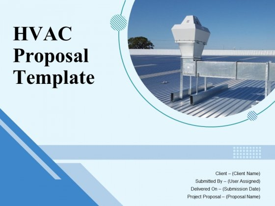 HVAC Proposal Template Ppt PowerPoint Presentation Complete Deck With Slides
