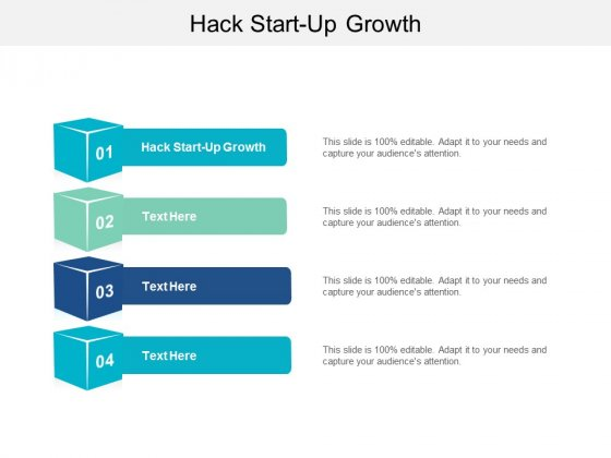 Hack Start Up Growth Ppt PowerPoint Presentation Layouts Layout Ideas Cpb
