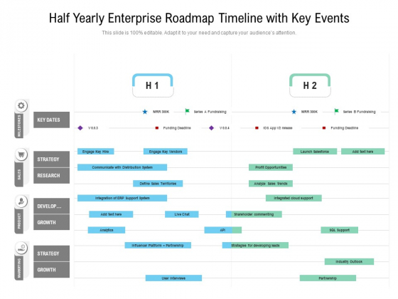 Half_Yearly_Enterprise_Roadmap_Timeline_With_Key_Events_Download_Slide_1