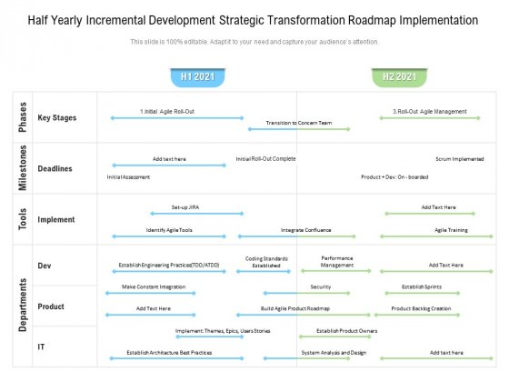 Half_Yearly_Incremental_Development_Strategic_Transformation_Roadmap_Implementation_Template_Slide_1