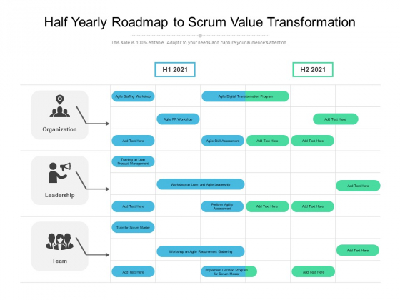 Half_Yearly_Roadmap_To_Scrum_Value_Transformation_Icons_Slide_1