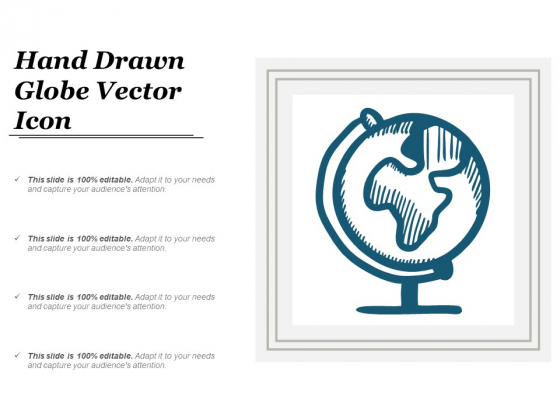 Hand Drawn Globe Vector Icon Ppt PowerPoint Presentation Infographics Ideas