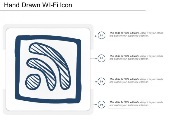 Hand Drawn Wi Fi Icon Ppt PowerPoint Presentation Infographics Ideas