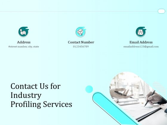 Handling Industry Analysis Contact Us For Industry Profiling Services Topics PDF