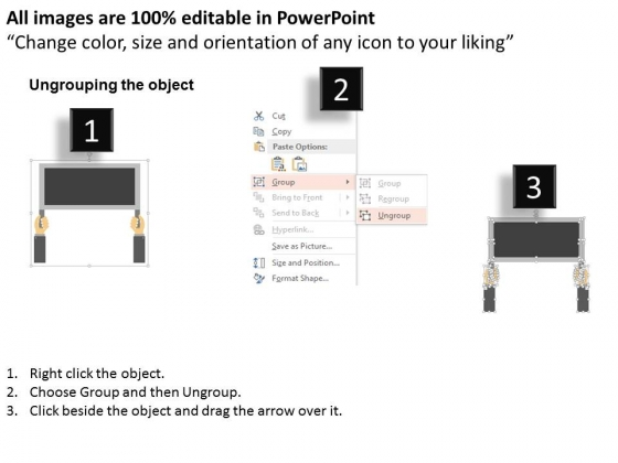 Hands_Holding_Board_Of_Think_Different_Powerpoint_Templates_2