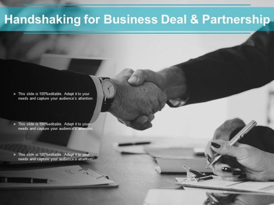 Handshaking For Business Deal And Partnership Ppt PowerPoint Presentation Ideas Diagrams