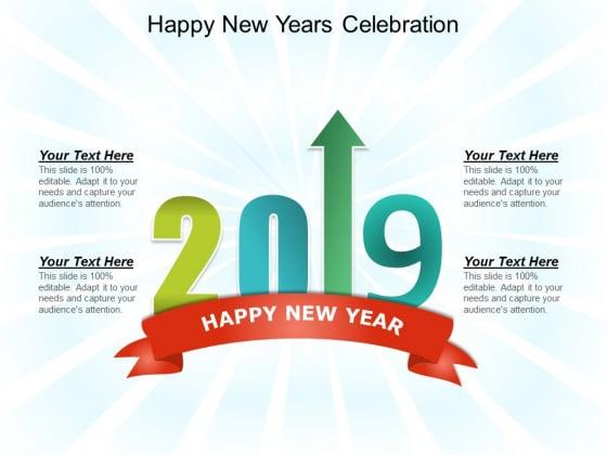 Happy New Years Celebration Ppt PowerPoint Presentation Portfolio Skills