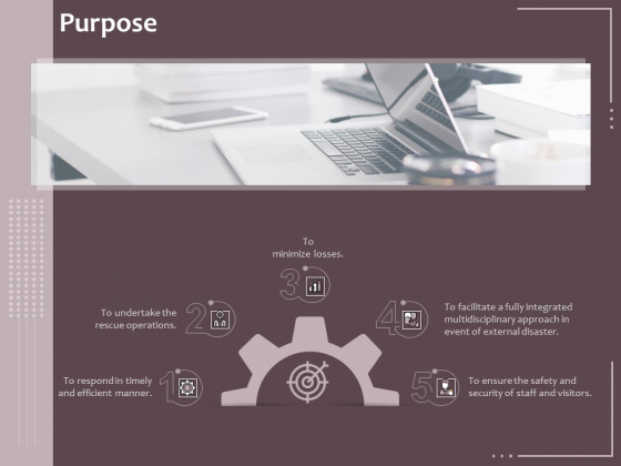 Hazard Administration Purpose Ppt Infographic Template Example File