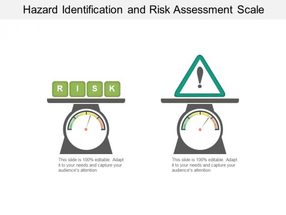 Hazard Identification And Risk Assessment Scale Ppt PowerPoint Presentation File Aids