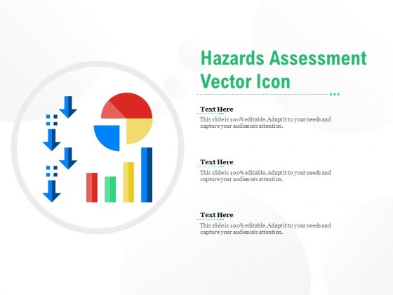 Hazards Assessment Vector Icon Ppt PowerPoint Presentation Summary Background