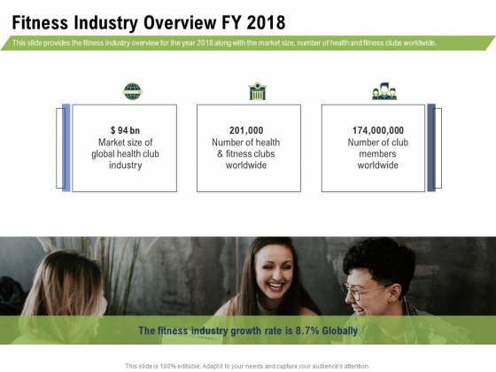 Health And Fitness Consultant Fitness Industry Overview FY 2018 Graphics PDF