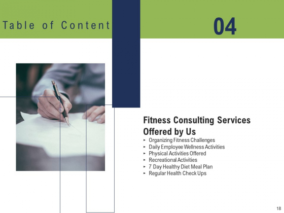 Health_And_Fitness_Consultant_Ppt_PowerPoint_Presentation_Complete_Deck_With_Slides_Slide_18