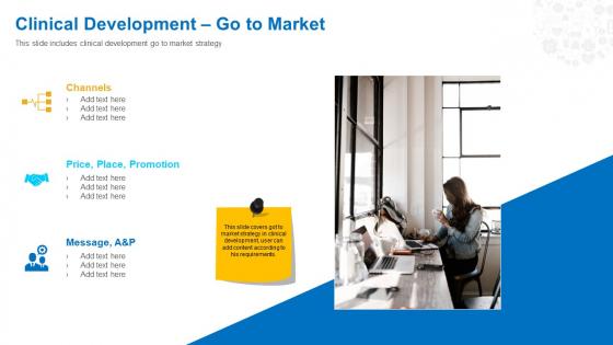 Health Clinic Marketing Clinical Development Go To Market Ppt Icon Slideshow PDF
