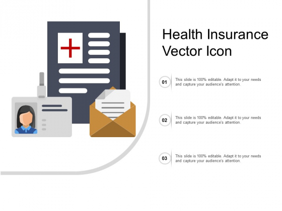 Health Insurance Vector Icon Ppt PowerPoint Presentation Summary Model
