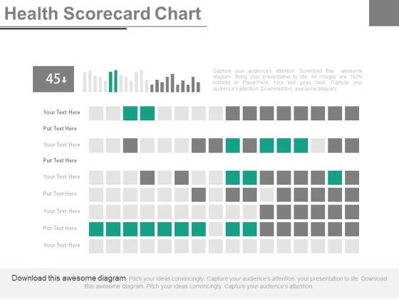 Health Scorecard Chart Ppt Slides