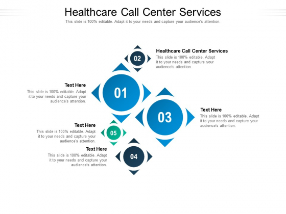 Healthcare Call Center Services Ppt PowerPoint Presentation Show Themes Cpb Pdf