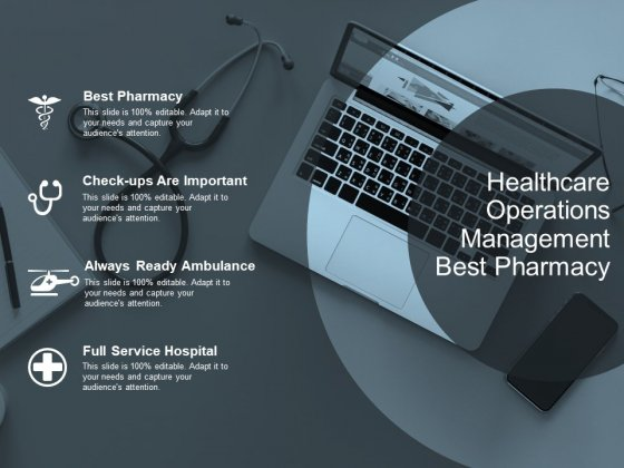 Healthcare Operations Management Best Pharmacy Ppt